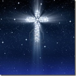 8263311-glowing-christian-cross-in-starry-sky-at-christmas